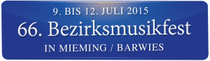 66. Bezirksmusikfest in Mieming